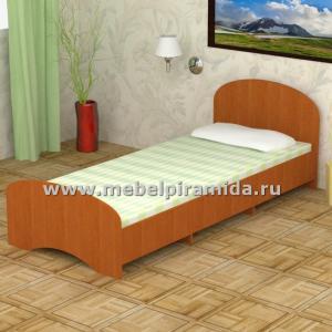 Кровать односпальная К-90 (Пирамида)