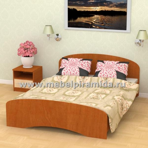 Фото Кровати Кровать двуспальная К-120 (Пирамида)