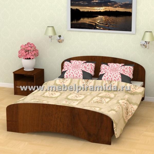 Фото Кровати Кровать двухспальная К-140 (Пирамида)
