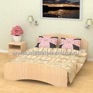 Кровать двухспальная К-140 (Пирамида)