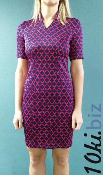 Платье Клео, красный принт Платья, сарафаны женские купить на рынке Апраксин Двор