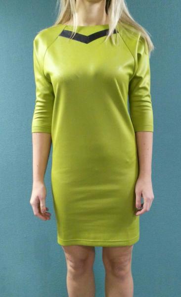 Платье Банни фисташковое