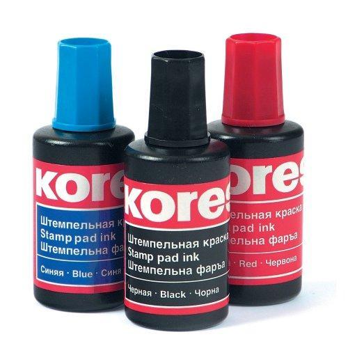 Штемпельная краска Kores ассорти (разные цвета, см. подробнее)