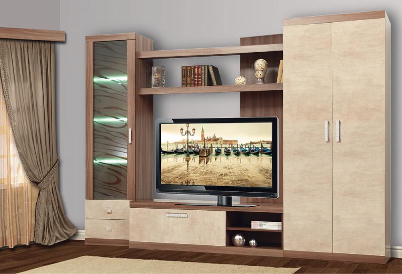 Фото Стенки и мебель для гостиной  Набор мебели Браво-2 (Олмеко)