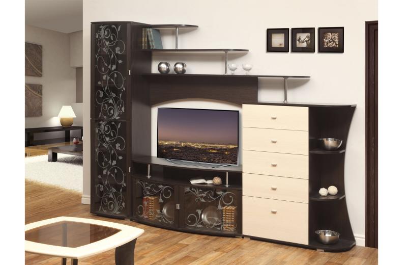 Фото Стенки и мебель для гостиной  Тумба для радиоаппаратуры