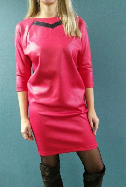 Платье Банни красное