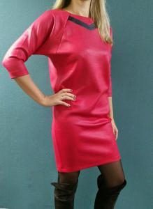 Фото  Платье Банни красное