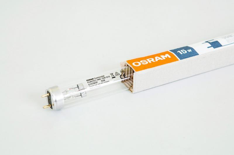 Лампа OSRAM 15W Ozon безозоновая для бактерицидных облучателей