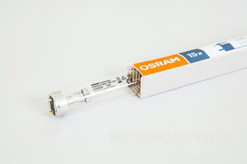 Фото Для стоматологических клиник, Оборудование Лампа OSRAM 15W Ozon безозоновая для бактерицидных облучателей