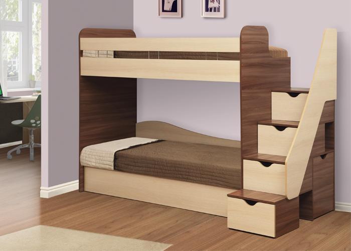 Фото Детская мебель Кровать двухъярусная