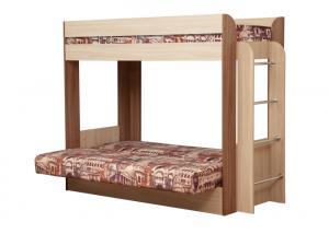 Кровать-чердак с диван-кроватью Немо (Олмеко)