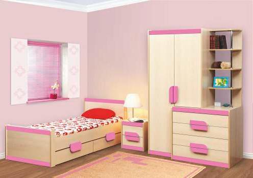 Фото Детская мебель Набор мебели Лайф (Олмеко)
