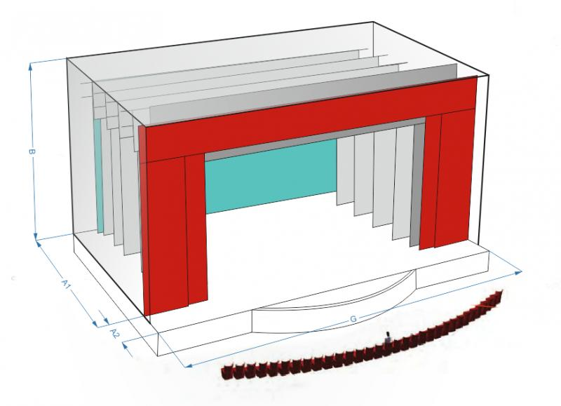 Проектные работы, монтаж и обслуживание оборудования сцены и одежды сцены
