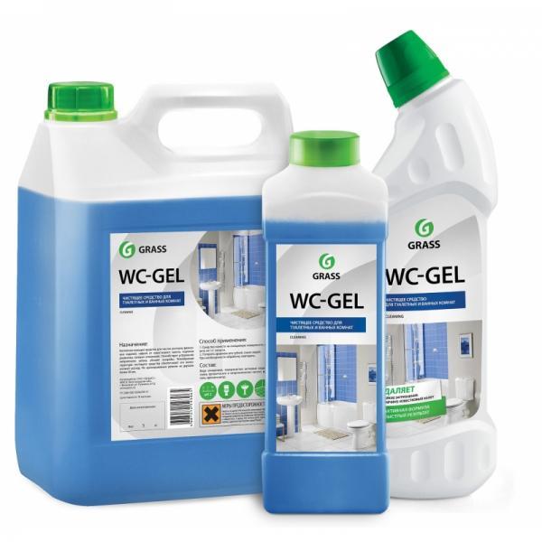 Средство чистящее кислотное для унитазов WC-Gel Grass (разный объем и цены, см. подробнее)