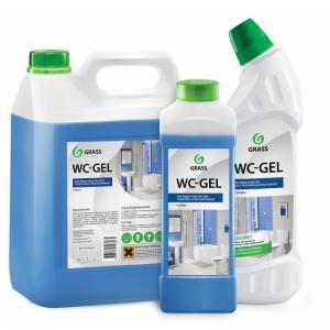 Средство чистящее профессиональное для унитазов WC-Gel (разный объем и цены, см. подробнее)