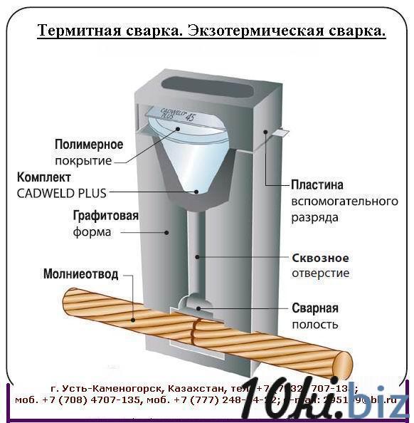 Комплект термитная сварка ТЭЗ-К1-М25х3+17-1500, ТЭЗ-К1-М25х3-В-500, ТЭЗ-К1-М25х3-Т-500, ТЭЗ-К1-М25х3-Х-100 купить в Усть-Каменогорске - Молниезащита и заземление, общее с ценами и фото