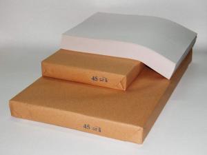 Бумага А4 и А3 48,8 г/м.кв. газетная, РБ (цену за А3 см. подробнее)