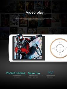Фото Цифровые диктофоны Mp3 плееры Yescool X1 Оригинальный Профессиональный Портативный Цифровой Диктофон 8 ГБ памяти MP3 MP4 MP5 плеер HIFI E-Book FM-радио поддержка видео игры