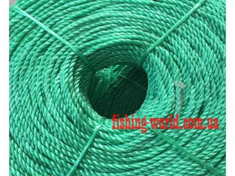 Фото Шнуры и Веревки, Веревка полипропиленовая (Мармара) Веревка полипропиленовая ( Мармара ) 3.5 мм