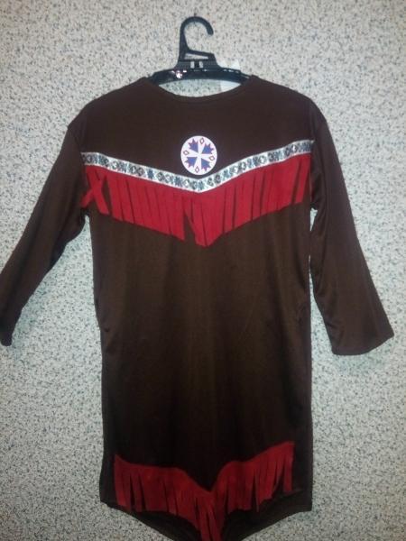 Карнавальное платье Покахонтас