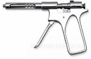Фото Для стоматологических клиник, Инструменты Шприц-пистолет карпульный для интралигаментарной анестезии
