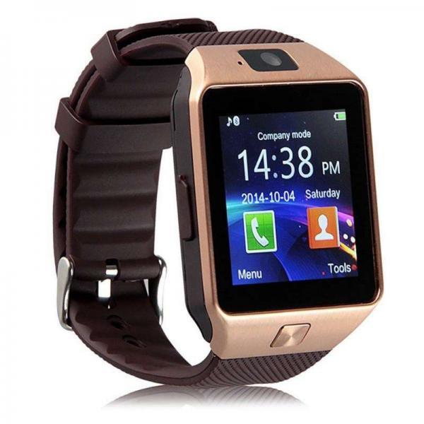 """Elough DZ09 Smart Watch Bluetooth Смарт часы Поддержка Sim карта TF карта Видеокамера противоударные влагозащищенные ЖК-экран 1.56"""" дюймов"""