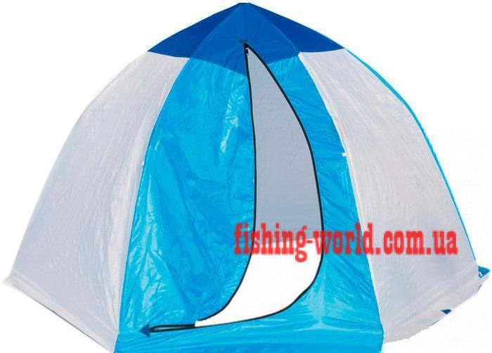 Фото Зимняя рыбалка, Зимние палатки Платка 3-местная зимняя, на алюминиевом каркасе