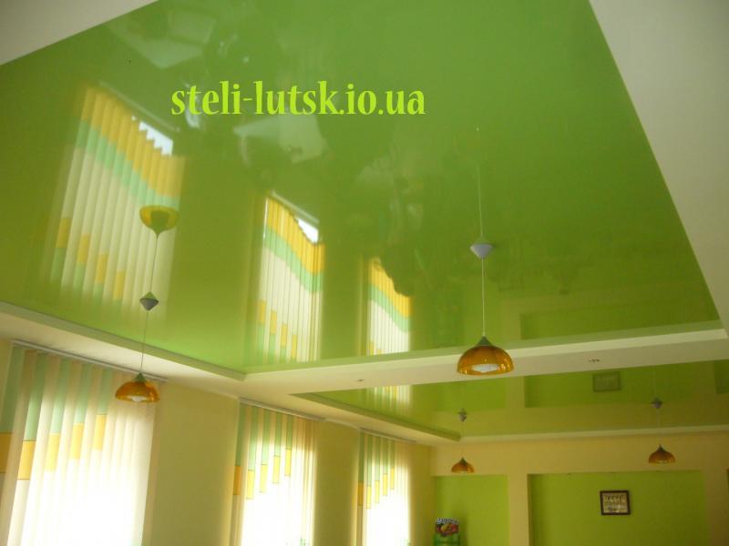 Глянцеві натяжні стелі, фото, ціна Луцьк
