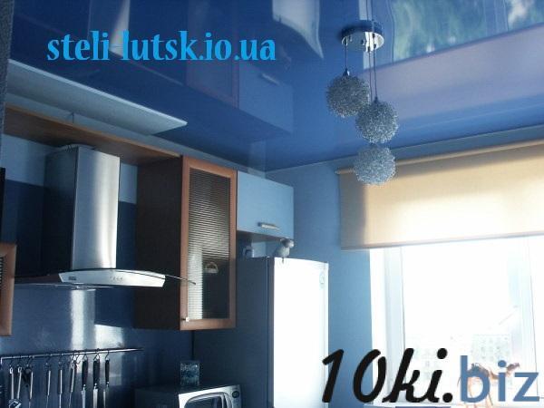 Натяжні стелі Луцьк. Встановлення світильників, карнизів. Натяжные потолки в Украине