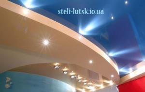 Фото  натяжные потолки в Луцке, натяжні стелі ціни