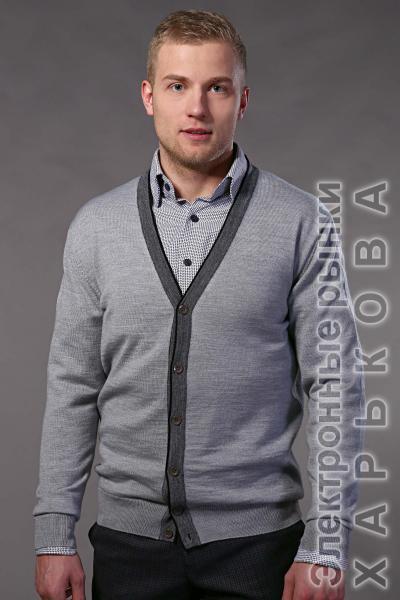 Кардиган 7004-1 S размеры 46-58 рост 176-182 - Пальто мужское на рынке Барабашова
