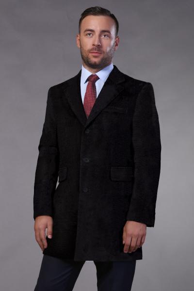 Пальто Пальто шерсть черное W102-ПЛ24