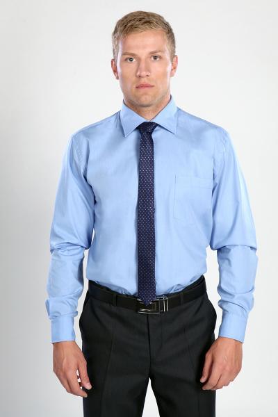 Рубашка DF 383 голубой
