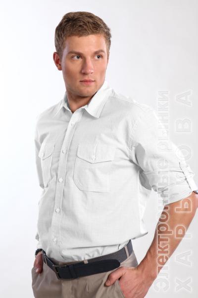 Рубашка 1298 белая