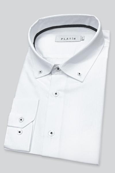 Рубашка JS-P1   белый