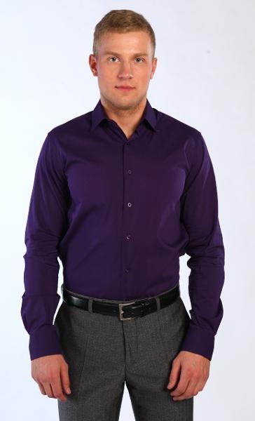 Рубашка 5311-6 S баклажан