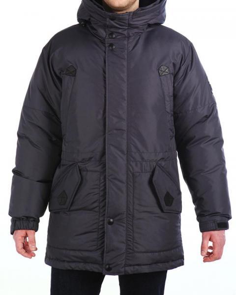 Куртка пуховик 16608, размер  50-58