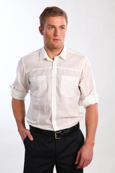 Рубашка 1200 белая