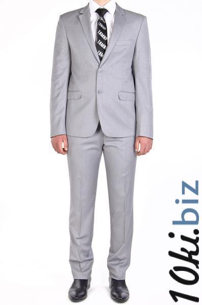 Костюм молодежный, серый, без блеска Мужские классические костюмы, смокинги в ТЦ Атриум Харьков