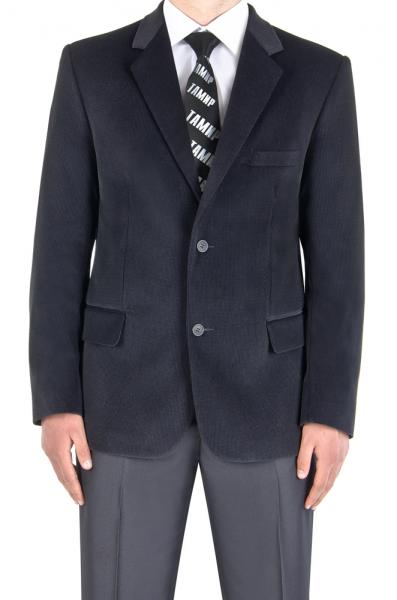 Пиджак велюровый, серый