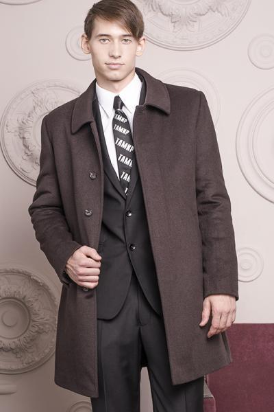 Пальто мужское Windzor коричневое