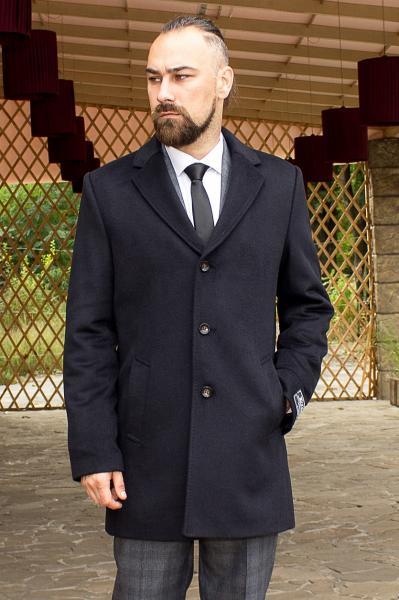 Пальто мужское Dante черное