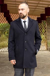 Фото Верхняя одежда Пальто мужское Dante черное