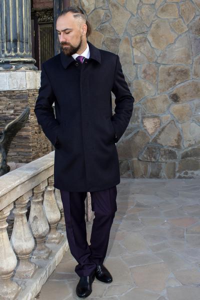Пальто мужское Donato черное