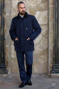 Фото Верхняя одежда Куртка мужская с меховым воротником Classic