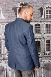 Фото Пиджаки Пиджак мужской темно-синего цвета