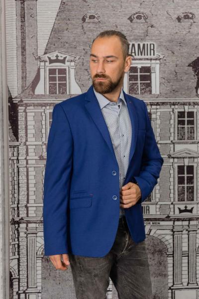 Пиджак мужской синий