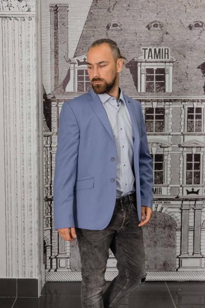 Пиджак мужской светло-синий