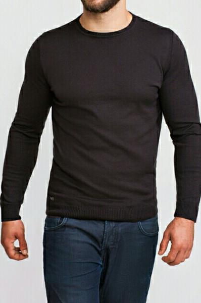 Джемпер мужской черный