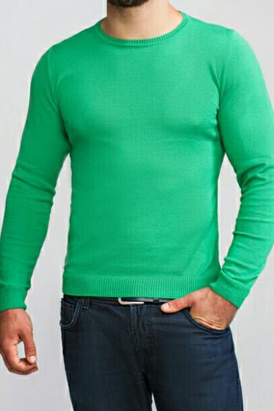 Джемпер мужской зеленый